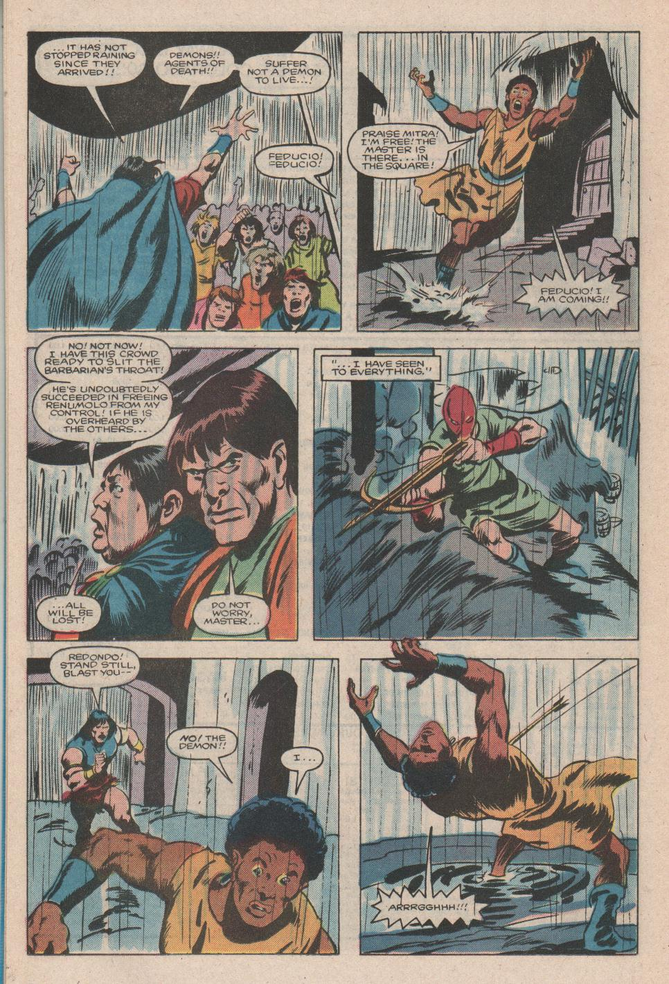Conan the Barbarian (1970) Issue #176 #188 - English 19