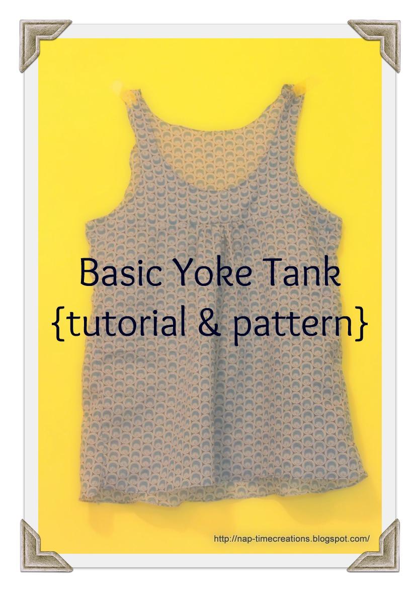 Free tank top pattern life sew savory free tank pattern jeuxipadfo Gallery