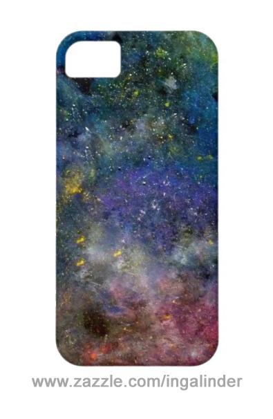 iPhone obudowa ze wzorem gwiezdnym