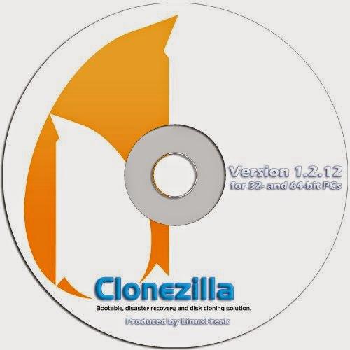 Clonezilla cd