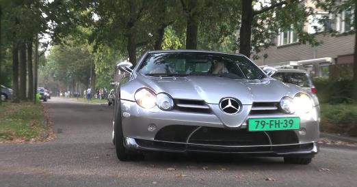 Édition Mercedes-Benz SLR McLaren 722