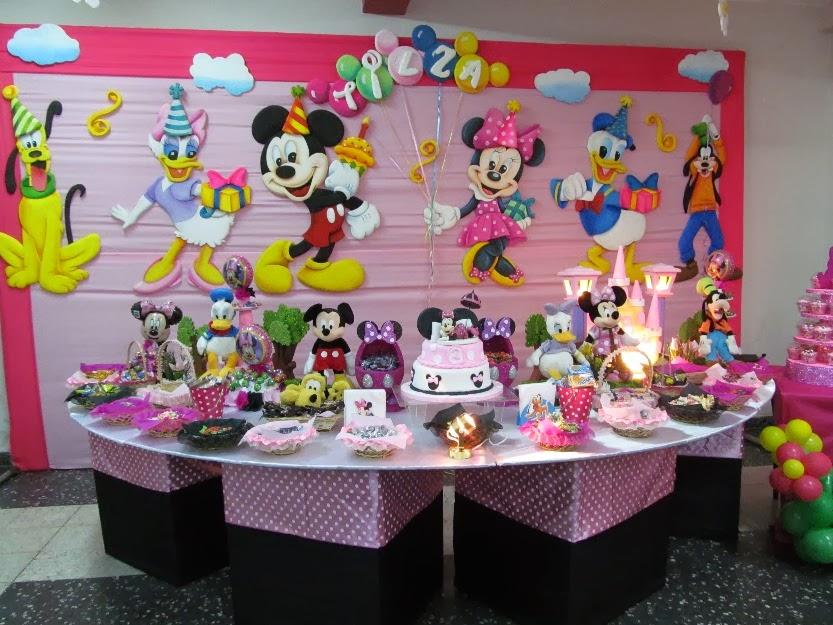 Minnie Decoraciones Para Fiestas ~ Frases, Reflexiones y tips IDEAS PARA FIESTA INFANTIL MINNIE MOUSE