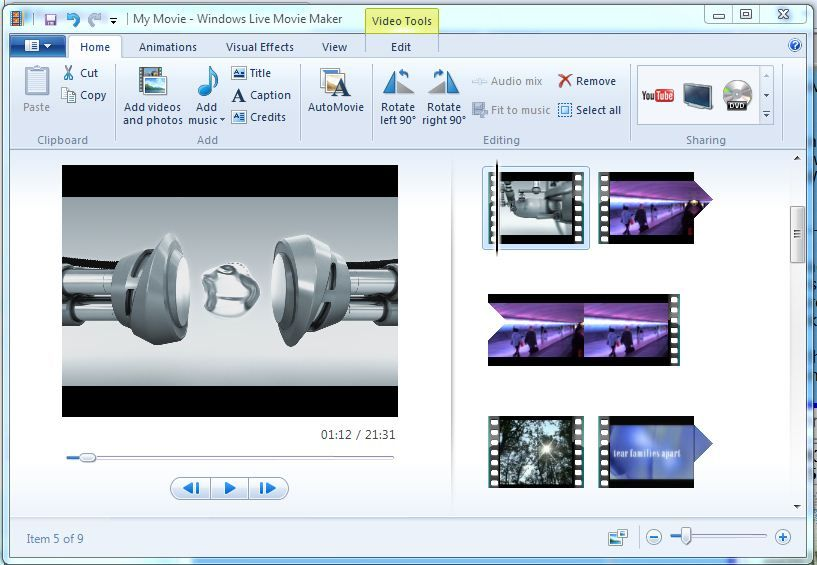 windows movie maker update: