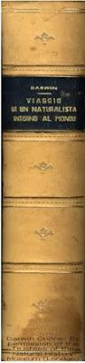 """copertina del libro """"Viaggio di un naturalista intorno al mondo"""""""