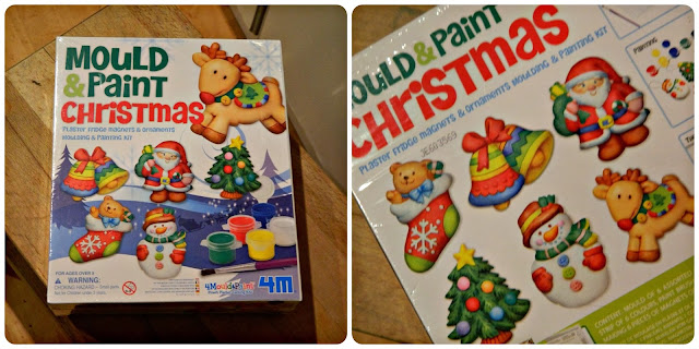 4M Mould and Paint Christmas from Great Gizmos