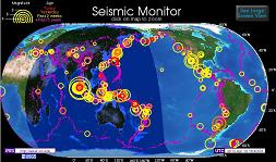 Actividad Sismica Global