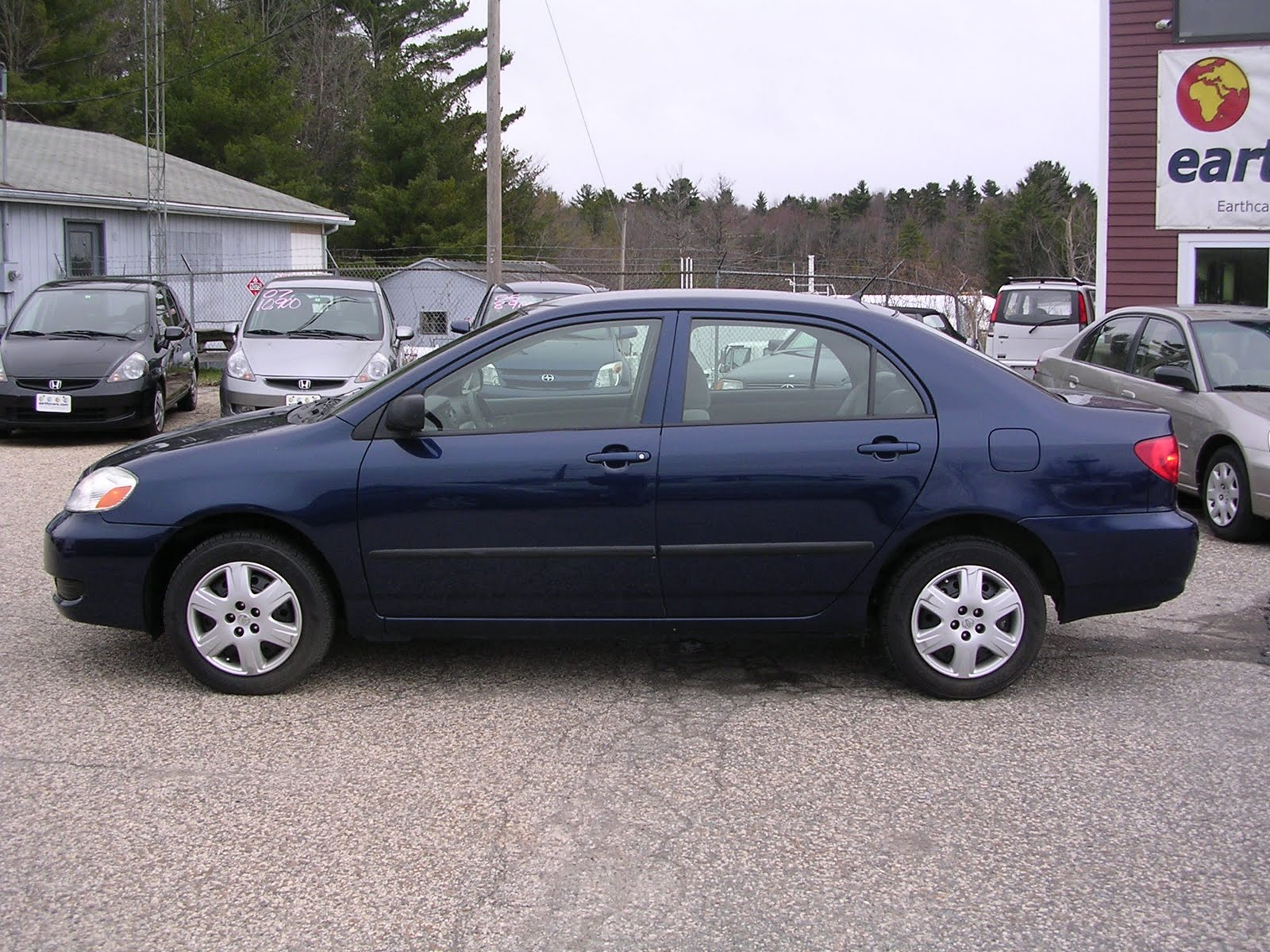 Earthy car of the week 2005 blue toyota corolla