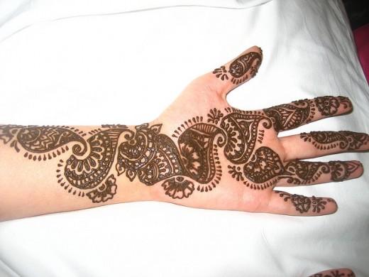 mehndi25 latest arabic mehndi designs for hands 2012