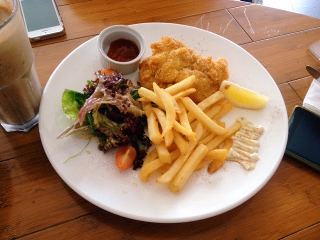 Golden Fish & Chips; Yew's Cafe & Bistro @ Senibong Cove, Johor Bahru, Malaysia