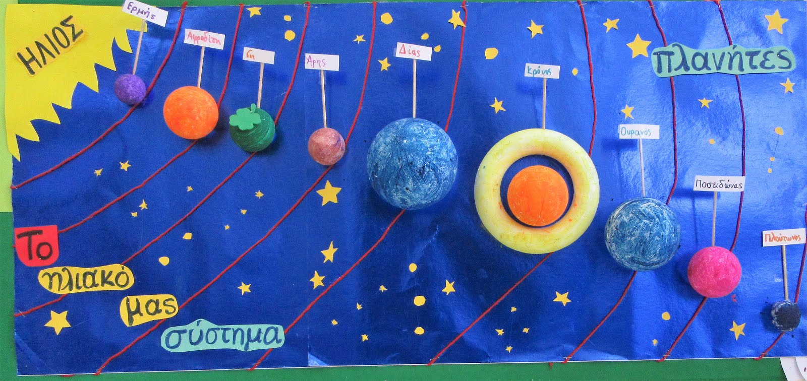 Το ηλιακό μας σύστημα !!