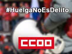 #HuelgaNoEsDelito