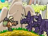 Você joga com Rehman, um homem das cavernas que viveu 65 milhões de anos, no período Cretáceo. Use sua bazuca para sobreviver neste mundo cheio de perigos. Você tem quantidades ilimitadas de balas! Esteja sempre alerta e tente recolher power-ups, certifique-se de saltar sobre as pedras!