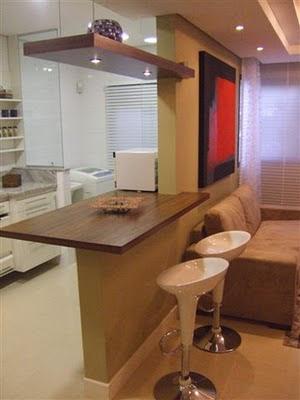 Amo meu ape sala e cozinha conjugadas - Bancadas de cocina ...