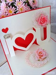 thiep valentine handmade