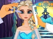 Elsa the Snow Queen has some trouble seeing. You will soon receive a visit from eye doctor for a complete eye exam and watch regain their vision. Perhaps their problems are due to living alone in a palace made entirely of ice and cold will affect the view. Do you think that's the problem?