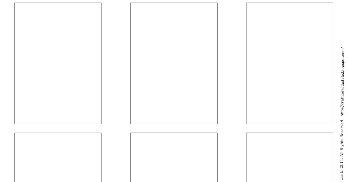 Custom Card Template » Blank Trading Card Template Free - Free