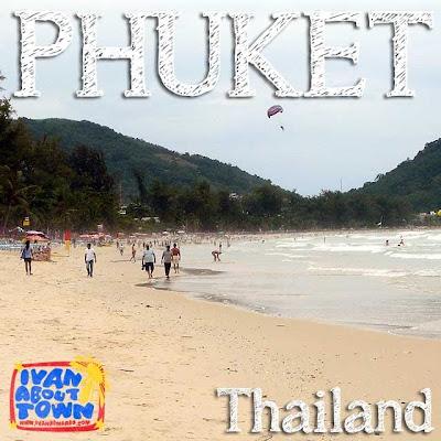 Phuket beaches Thailand Patong