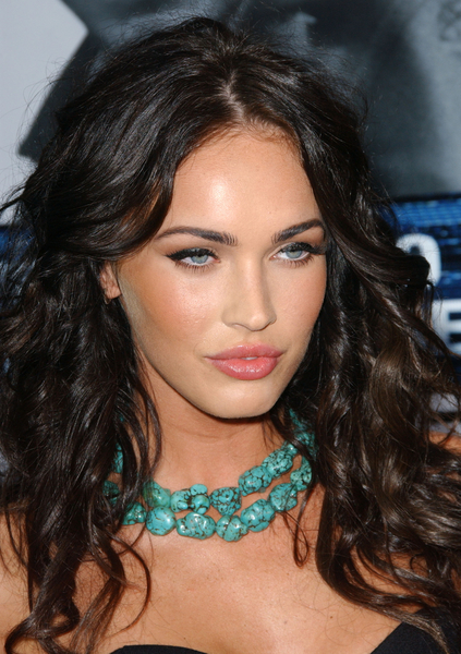 megan fox hair updos. Wavy Updo Hairstyle Pictures