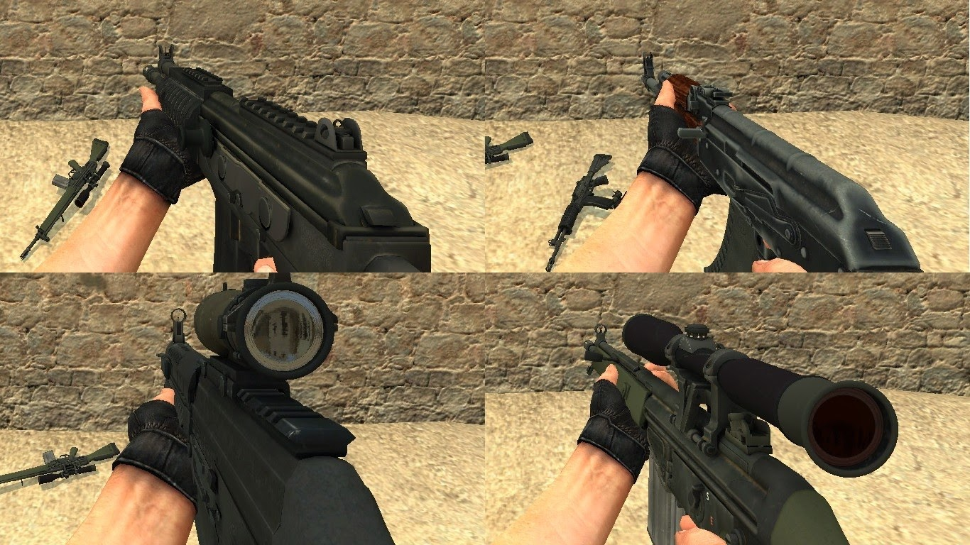 how to give weapons in cs go
