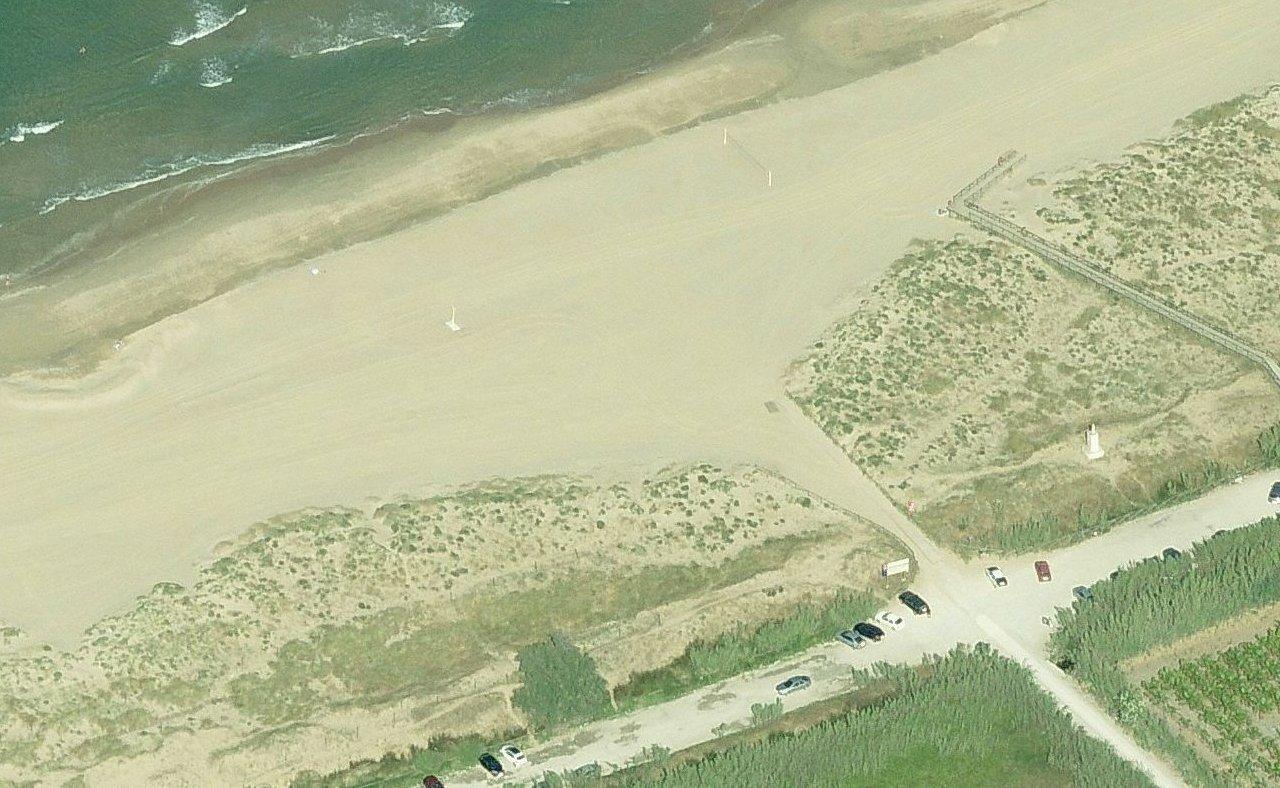 La platja de l'Ahuir