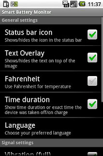 Smart Battery Monitor apk