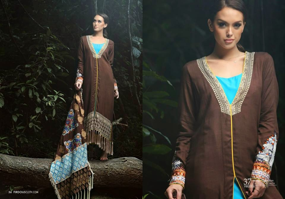 Firdous Marina Winter Shawls Collection
