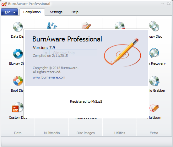 BurnAware Professional 7.9 Full Patch