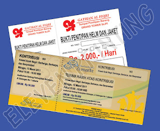 Percetakan Tiket