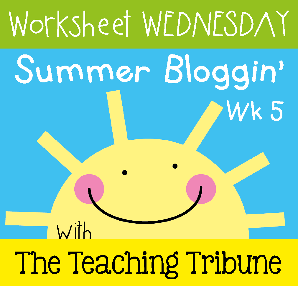 TeachesThirdinGeorgia: Worksheet Wednesday! Back to School Freebie!