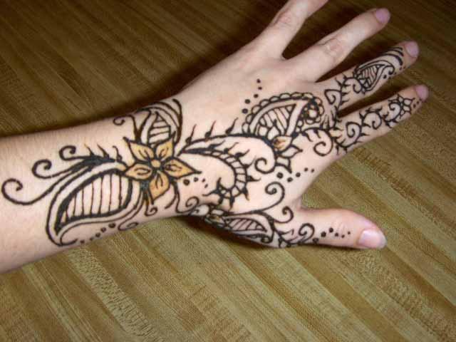 Mehndi Flower For Hand : Amehndidesign top floral mehndi designs for women