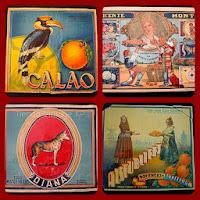 Venta de carteles de frutas vintage para decoración o coleccionismo.