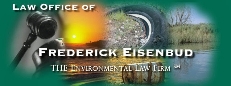 Law Office of Frederick Eisenbud - The Environmental Law Firm