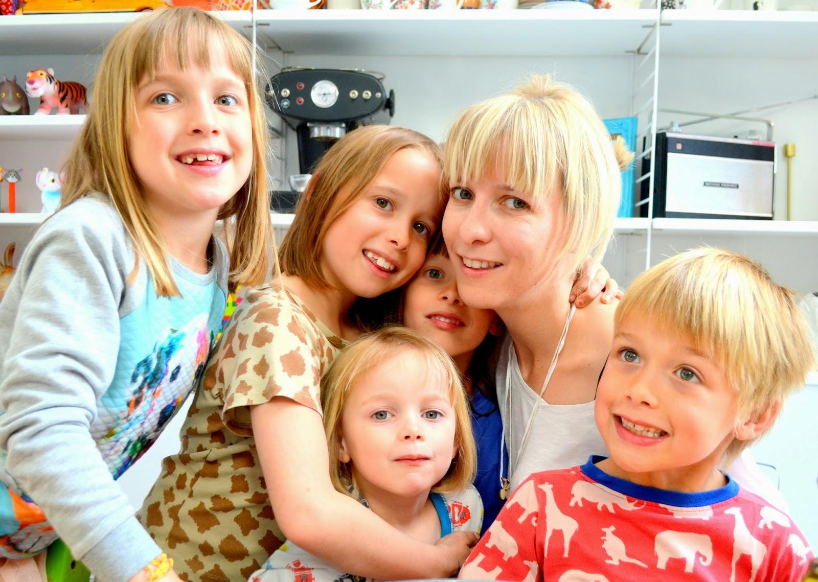 Mama van vijf: uitslag moederdag give away