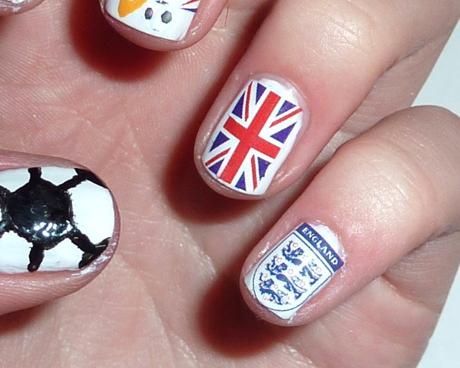 Sophie Jenner World Cup 2014 Nails