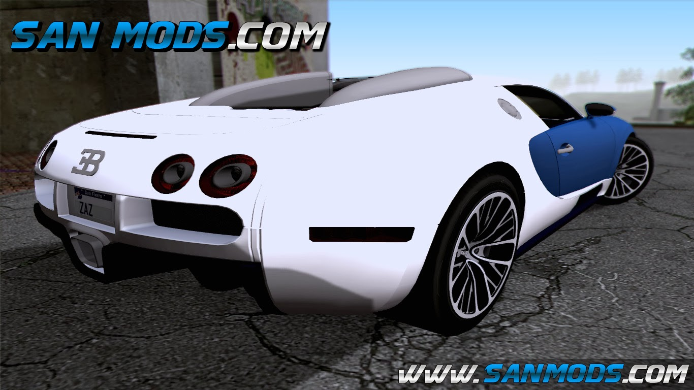 gta sa bugatti veyron 16 4. Black Bedroom Furniture Sets. Home Design Ideas