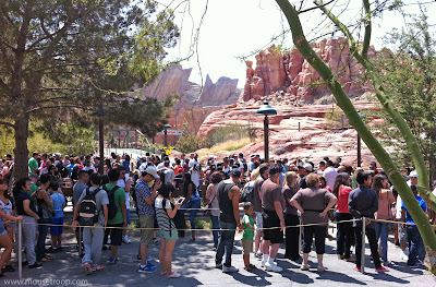 Radiator Springs Racers Line Queue
