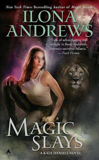 Guest Review: Magic Slays by Ilona Andrews
