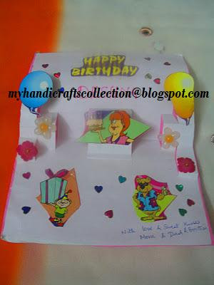 Colourful Imaginations Pop Up Birthday Card Diy