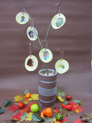The Pa-Paw Patch, thanksgiving tree, preschool Thanksgiving theme, vale nc daycare, vale nc childcare, kids thanksgiving crafts