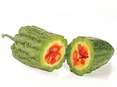 papare sayur buah pare