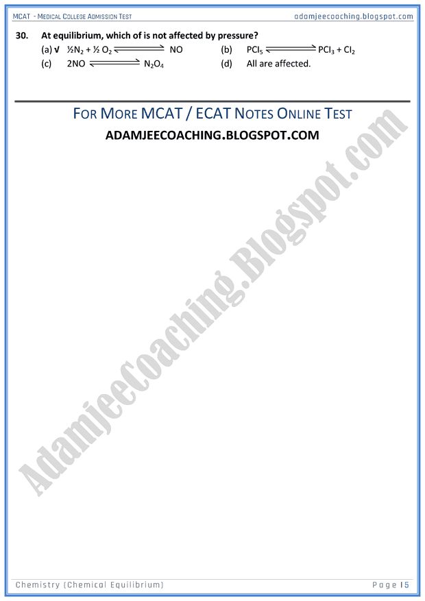 mcat-chemistry-chemical-equilibrium-mcqs-for-medical-entry-test