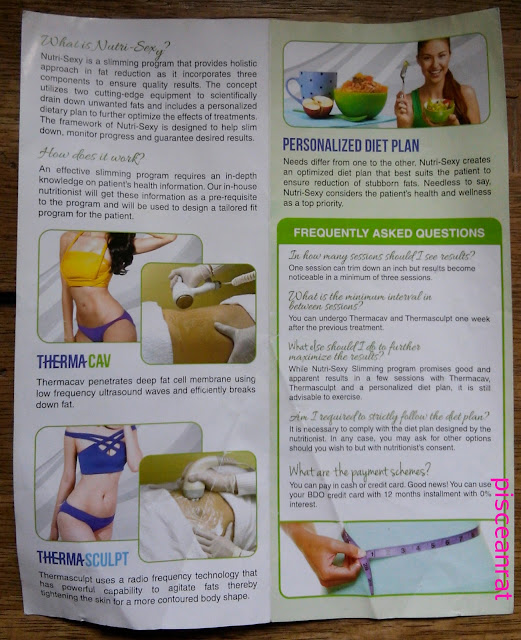 dermstrata, nutri-sexy slimming program, thermacav, thermasculpt, personalized diet plan,