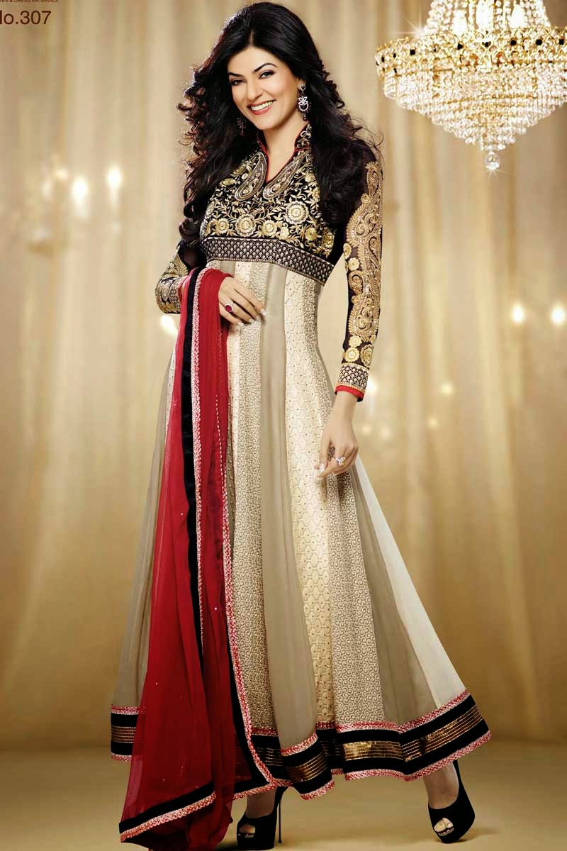 Excellent Summer Anarkali Dresses For Women - Fashion And Beauty