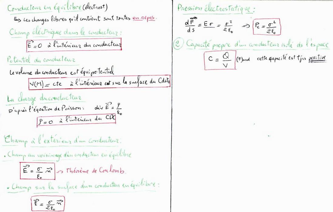 résumé électricité 1
