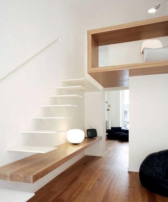 Dise os de escaleras para espacios peque os decoracio nesdotcom - Planken modern design ...