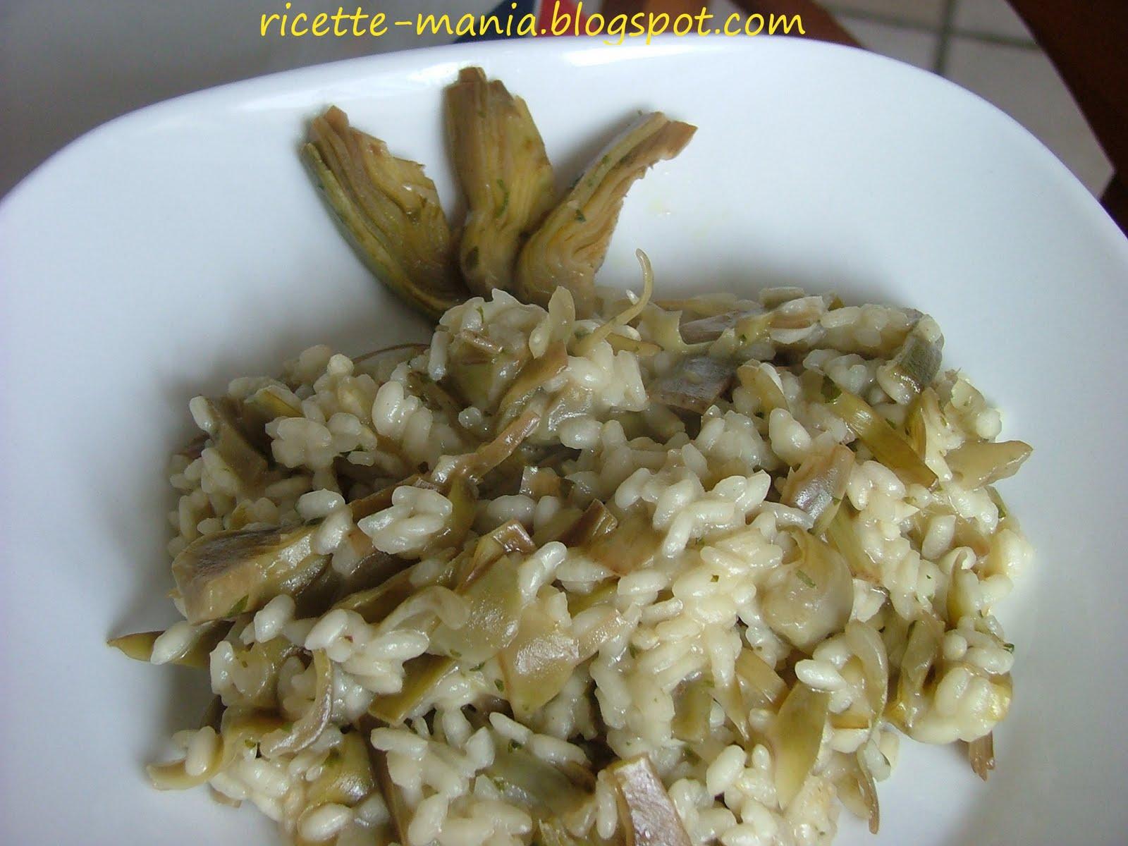 Ricette e idee per cucinare risotto ai carciofi for Cucinare risotto