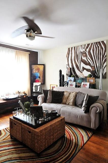 Gemütlichkeit zu Hause - leichte Dekoration mit Hinguckern