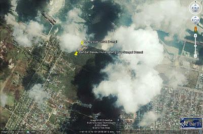 sekolah alam bandar bakau dumai hutan mangrove sungai dumai