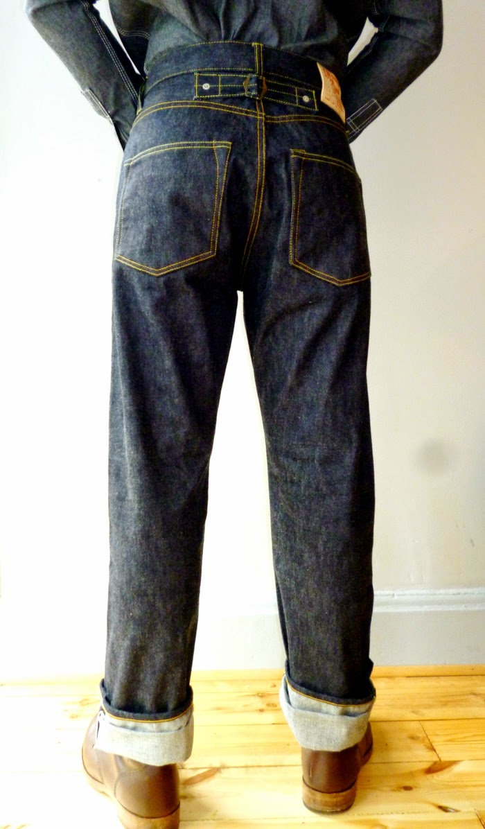 Simon James Cathcart - SJC Denim - The Brakeman