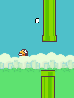Download Game flappy bird untuk HP java S40